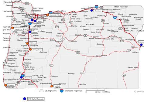 map of oregon rest stops travel information backlit display faqs oregon travel