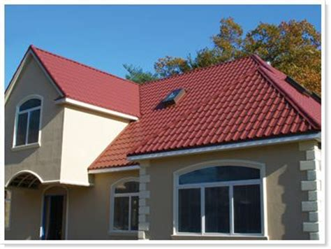 protection from the elements haggetts aluminum red tile metal roof offers protection from the elements