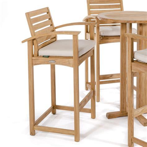 teak outdoor bar stools somerset teak bar stool and pub chair westminster teak