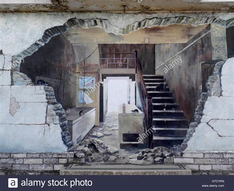 Trendwatch Trompe Loeil by On Wall Of Condemned Building Producing A