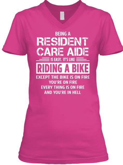 Resident Care Assistant by Resident Care Aide Being A Resident Care Aide Is Easy It S Like A Bike Except The Bike