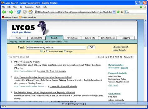 Lycos Search Lycos Co Uk