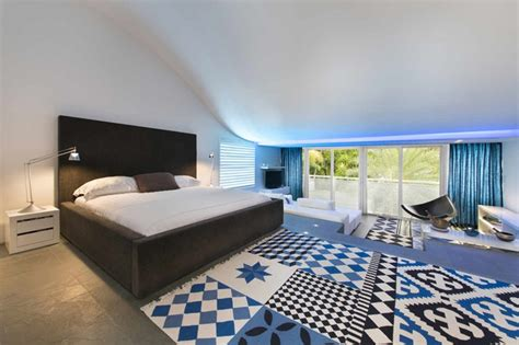 Master Bedroom Curtains modern mansion with amazing lighting florida