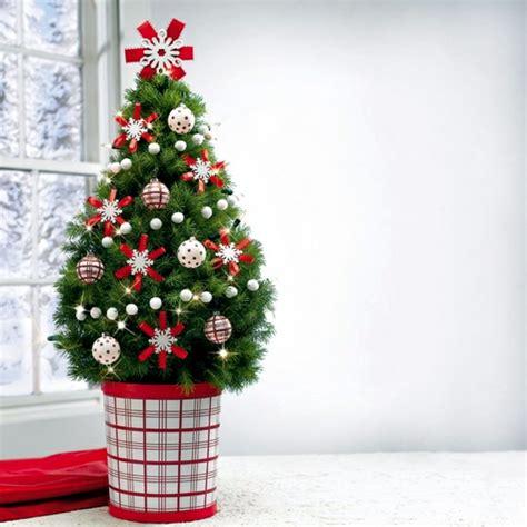 Nice Where Can I Buy An Artificial Christmas Tree #3: Home-decorating-small-christmas-tree-on-the-table-1-183.jpg