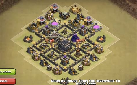 layout kuat th 5 coc 5 epic town hall 5 war base layouts farming base layouts