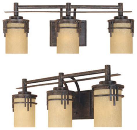 craftsman bathroom lighting mission ridge 3 light bath bar craftsman bathroom