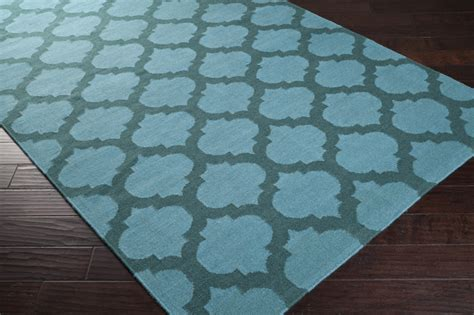 teal green rug sea blue and teal green trellis frontier rug by surya