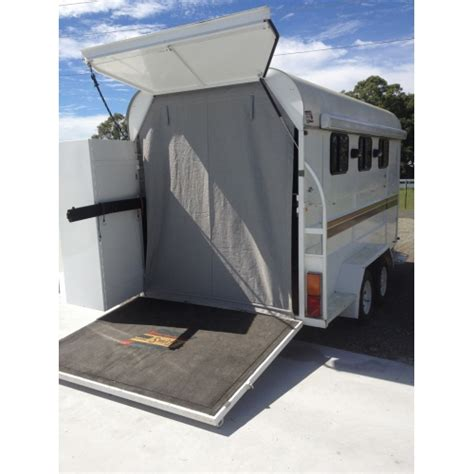 Caravan Rollout Awnings Touch N Go Horse Float And Goosenecks