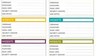 excel password template excel password list template password template for excel