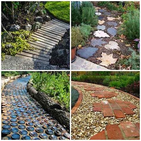 27 unique and creative diy garden path ideas gardening