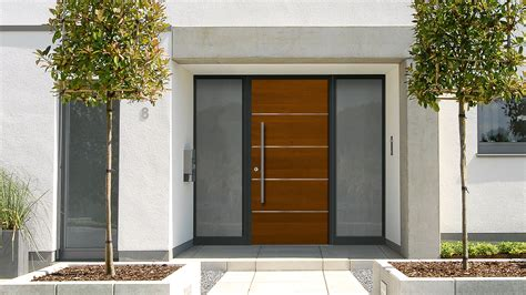 Aluminum Exterior Doors Aluminum Wood Entry Doors Harman Fensterbau