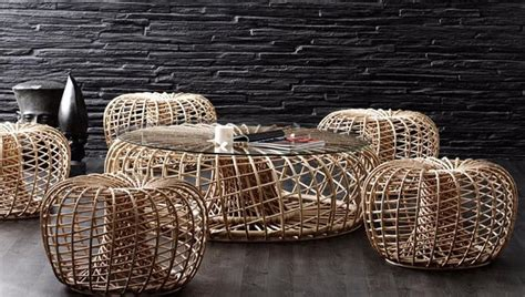 superior Home Office Decor Ideas #2: Use-the-rattan-creation-as-a-cool-coffee-table.jpg