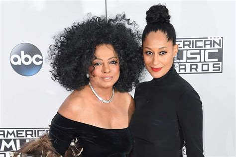 tracee ellis ross dad diana ross critiqued her daughter tracee ellis ross first