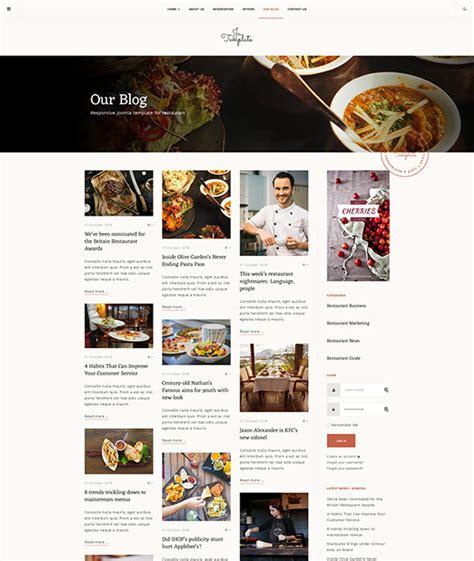 joomla templates for restaurants responsive joomla template for restaurant pub or cafe