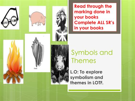 lord of the flies themes lesson plans themes and symbols in lord of the flies by webblhoward