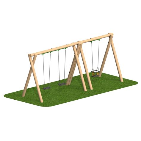 flat swing seat timber swing 2 flat seat 1 cradle seat playscape playgrounds