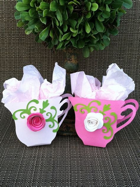 bridal shower tea favor ideas tea cup favors set of 12 bridal shower tea tea favors tea cups tea