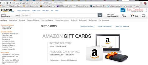 Amazon Gift Card Donation - donations log john de nugent