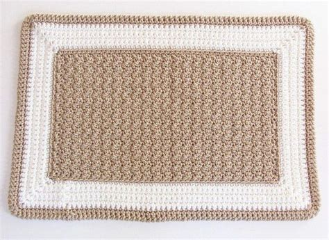crochet rectangle rug crochet ideas i like