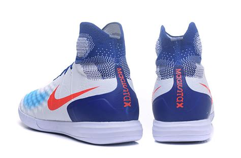nike flat bottom shoes selling nike magista obra ii tf blue white orange flat