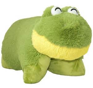 pillow pets pillow pets frog planet