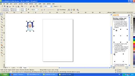 tutorial edit foto coreldraw tutorial membuat pas foto pada corel draw