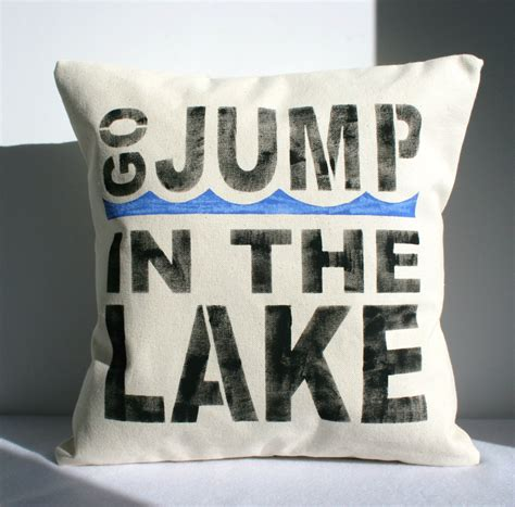Lake House Pillows by Lake House Cottage Pillow Cover By Carijoydesigns On
