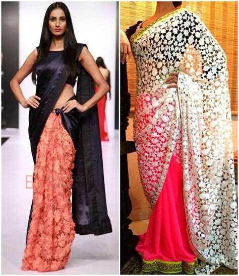 half and half sarees 5 most demanding concept