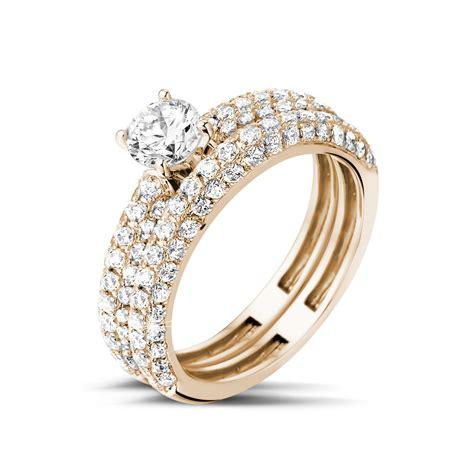 Wunderschöne Verlobungsringe diamantene verlobungsringe aus rotgold 0 50 karat paar