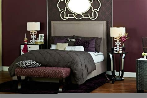 deep purple and grey bedroom deep purple burgundy and browns bedroom decor master