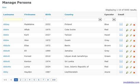 yii gridview tutorial yii framework 开发教程 22 ui 组件 zii 组件简介 yii framework 开发教程