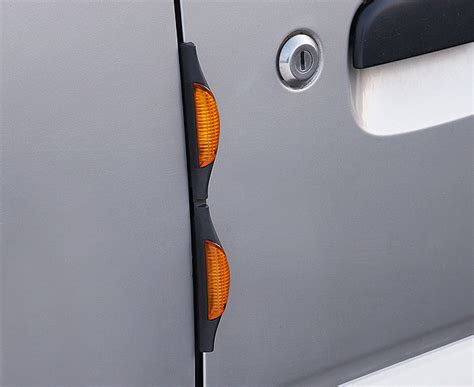 s s reflective car door guards set of 4