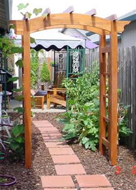 Garden Arbor Cheap New Japanese Style Cedar Wood Garden Arbor Pergola Arch