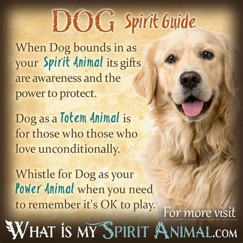 dog symbolism meaning power animal spiritual animal