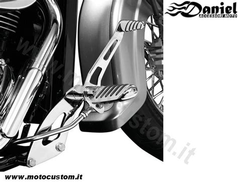 pedane per moto custom pedane avanzate tech honda shadow vt750 honda shadow vt750