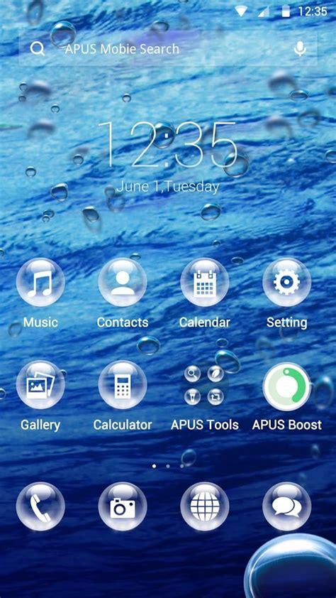 download themes apus drops theme for apus 1mobile com