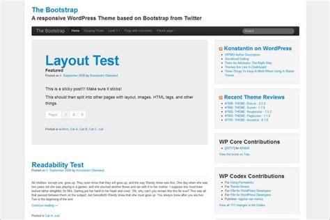 bootstrap themes gpl download the 20 best free wordpress themes may 2012