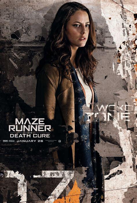 film maze runner la rivelazione maze runner la rivelazione character poster widemovie