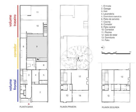 House Plans Two Story Casa Gilardi By Luis Barrag 225 N The Architects Take