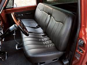 Chevrolet Truck Seats 55 Chevy Truck Bench Seats Autos Post