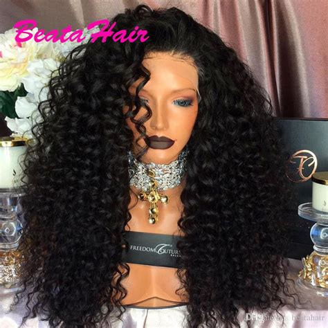 Long Curly Lace Wig Glueless Full Lace Wigs Virgin