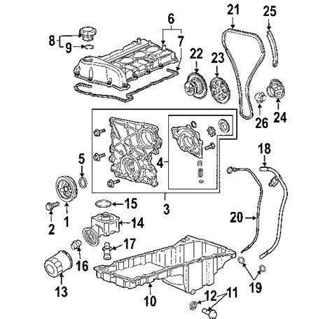chevy oem parts diagram parts 174 chevrolet engine engine parts crnkshft gear
