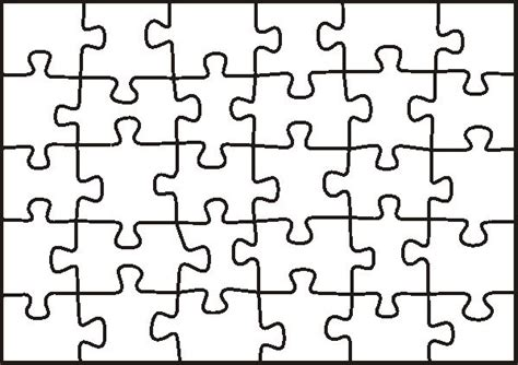 puzzle template students create  piece    joined
