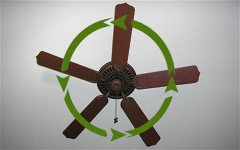 Ceiling Fan Rotation Summer by How To Use A Paddle Ceiling Fan Properly Today S Homeowner