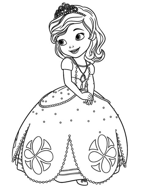 sofia the coloring page free coloring pages of sofia the pets