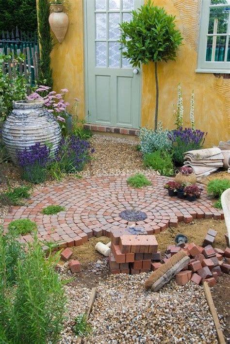 brick patio diy garden