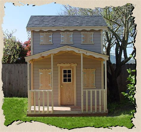 outdoor wooden playhouse children s outdoor wooden playhouse plans furnitureplans