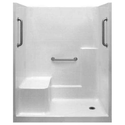 Single Stall Shower by Single Shower Stalls Kits Showers