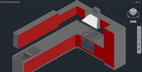 3d furniture draing kitchen 3d autocad drawing 2 187 cadsle
