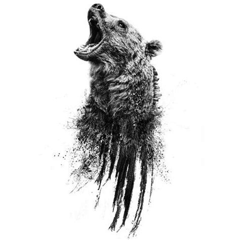 definition of borne off bear head tattoo the meaning of ink pinterest head